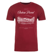 Star Trek: Picard Chateau Picard Vineyard Logo Maroon Adult Short Sleeve T-Shirt
