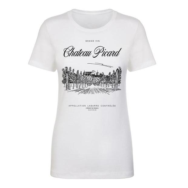 Star Trek: Picard Star Trek: Picard Chateau Picard Vineyard Logo Women's Short Sleeve T-Shirt