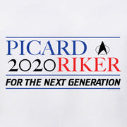 Star Trek: The Next Generation Picard Riker 2020 Adult Short Sleeve T-Shirt