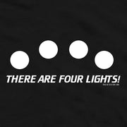 Star Trek: The Next Generation Four Lights Adult Short Sleeve T-Shirt