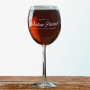 Star Trek: Picard Chateau Picard Logo Wine Glass