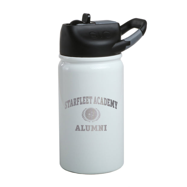 Star Trek Starfleet Academy Alumni Laser Engraved Short SIC Water Bottle