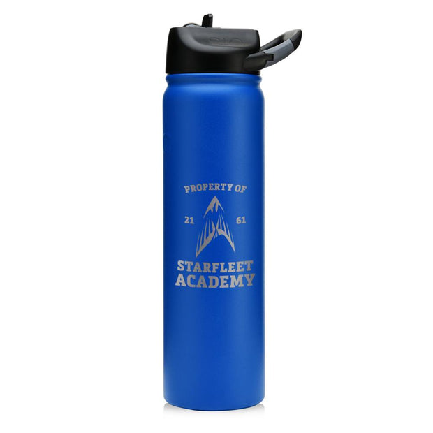 Star Trek Starfleet Academy Flying Phoenix Delta Laser Engraved SIC Water Bottle