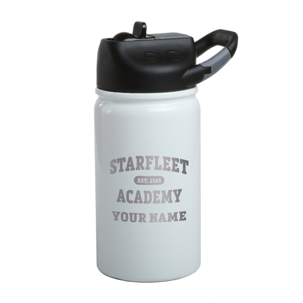 Star Trek Starfleet Academy EST. 2161 Personalized Laser Engraved Short SIC Water Bottle