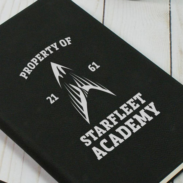 Star Trek Starfleet Academy Flying Phoenix Delta Notebook