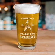 Star Trek Starfleet Academy: Flying Phoenix Delta Pint Glass