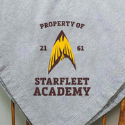 Star Trek Starfleet Academy Flying Phoenix Delta Stadium Blanket