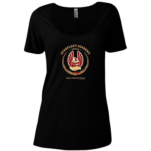 Star Trek Starfleet Academy San Francisco Phoenix Women's Relaxed Scoop Neck T-Shirt