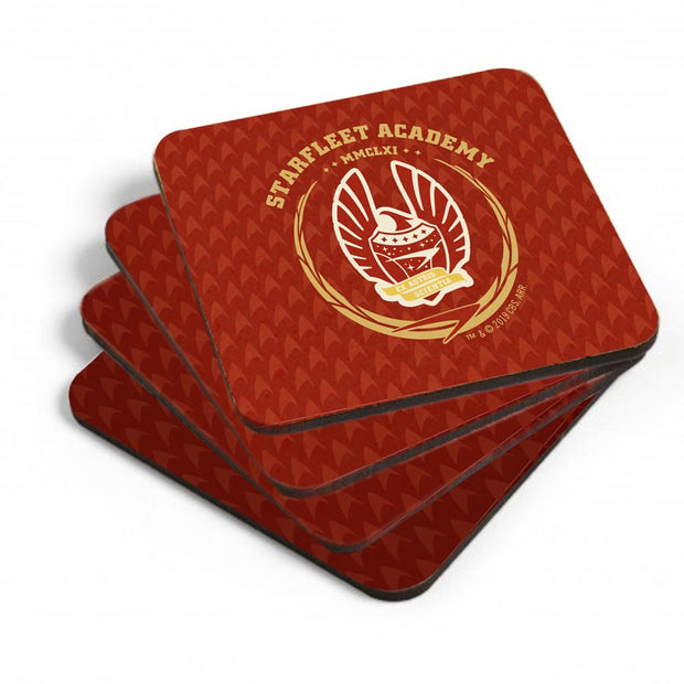 Star Trek: Starfleet Academy San Francisco Phoenix Coaster - Set of 4