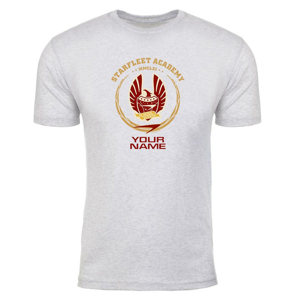 Star Trek: Starfleet Academy San Francisco Phoenix Personalized Men's Tri-Blend T-Shirt