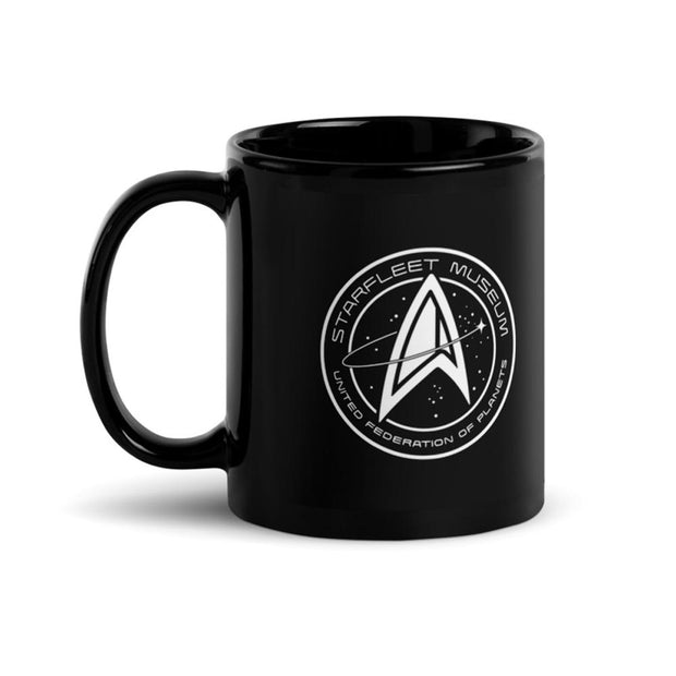 Star Trek Starfleet Museum 11 oz Black Mug