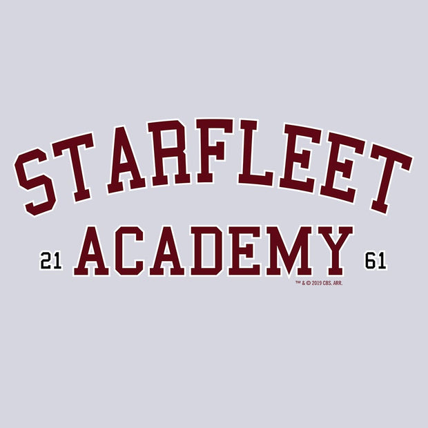 Star Trek Starfleet Academy Varsity Adult Short Sleeve T-Shirt