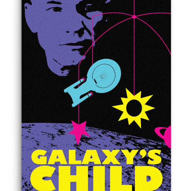 Star Trek: The Next Generation Juan Ortiz Galaxy's Child Premium Gallery Wrapped Canvas