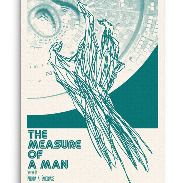 Star Trek: The Next Generation Juan Ortiz The Measure of a Man Premium Gallery Wrapped Canvas