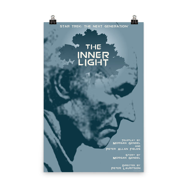 Star Trek: The Next Generation Juan Ortiz The Inner Light Premium Satin Poster