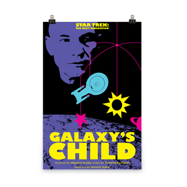 Star Trek: The Next Generation Juan Ortiz Galaxy's Child Premium Satin Poster