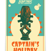 Star Trek: The Next Generation Juan Ortiz Captain's Holiday Premium Satin Poster