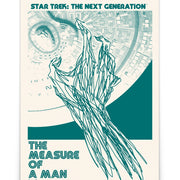 Star Trek: The Next Generation Juan Ortiz The Measure of a Man Premium Satin Poster