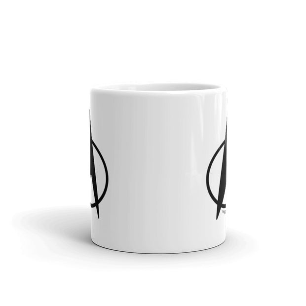 Star Trek: The Next Generation Delta White Mug