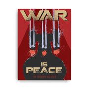 Star Trek: The Next Generation Mirror Universe War is Peace Wrapped Canvas