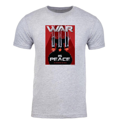 Star Trek: The Next Generation Mirror Universe War is Peace Adult Short Sleeve T-Shirt