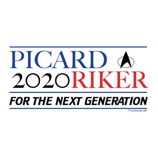 Star Trek: The Next Generation Picard Riker 2020 Women's V-Neck T-Shirt