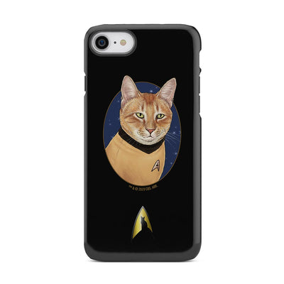 Star Trek: The Original Series Cat Captain KirkTough Phone Case