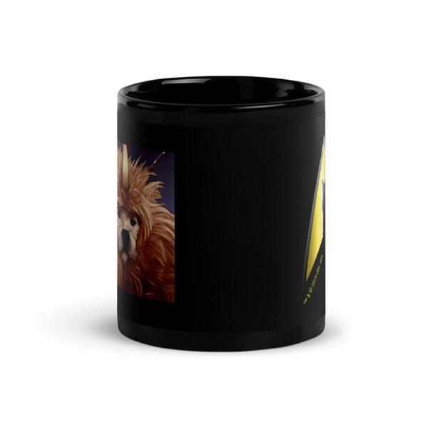 Star Trek: The Original Series Dog Alien Black Mug
