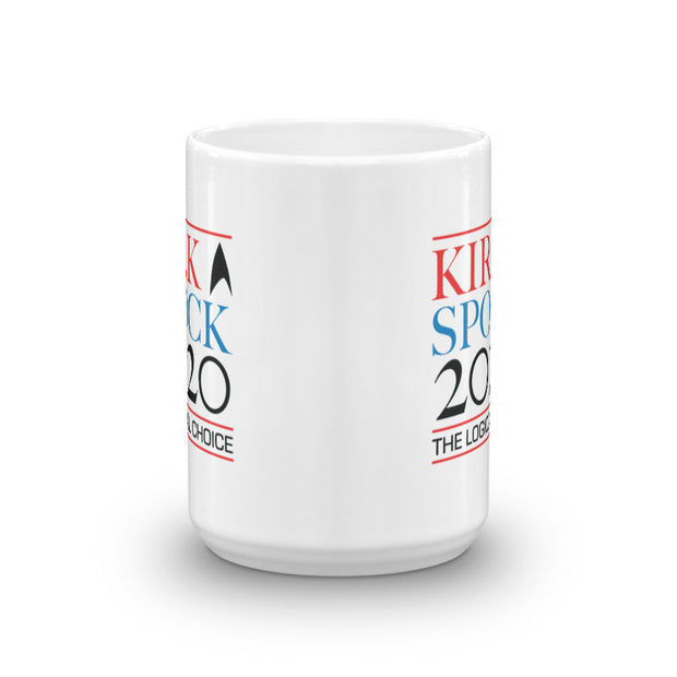 Star Trek: The Original Series Kirk & Spock 2020 White Mug