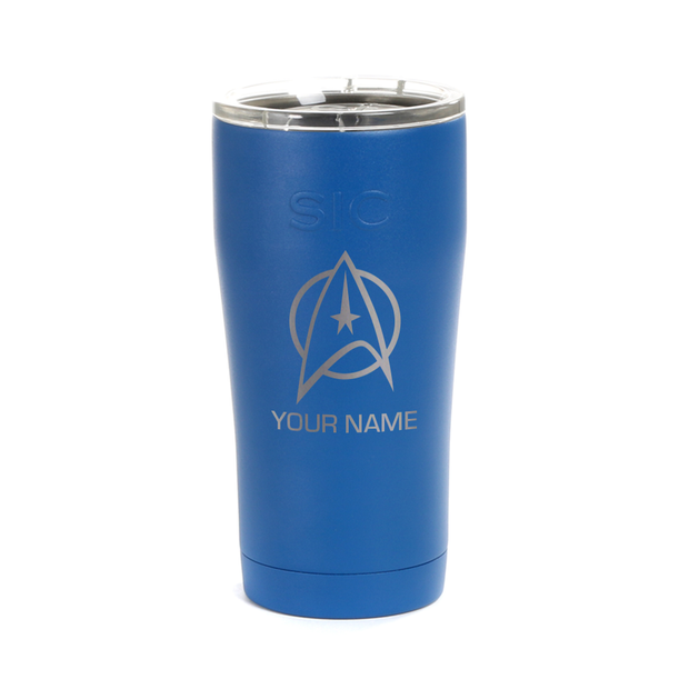 Star Trek: The Original Series Delta Personalized Laser Engraved SIC Tumbler