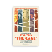 Star Trek: The Original Series Juan Ortiz The Cage Premium Gallery Wrapped Canvas