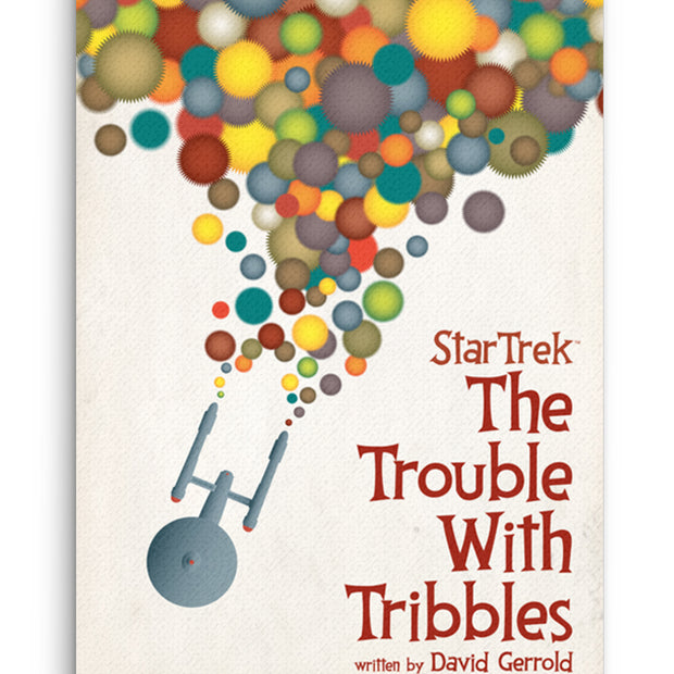 Star Trek: The Original Series Juan Ortiz The Trouble With Tribbles Premium Gallery Wrapped Canvas