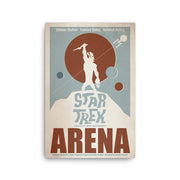 Star Trek: The Original Series Juan Ortiz Arena Premium Gallery Wrapped Canvas