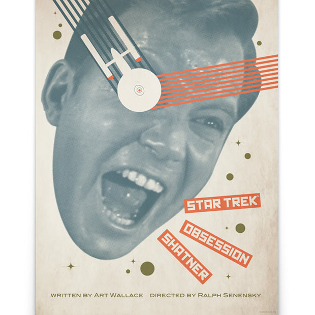 Star Trek: The Original Series Juan Ortiz Obsession Satin Poster