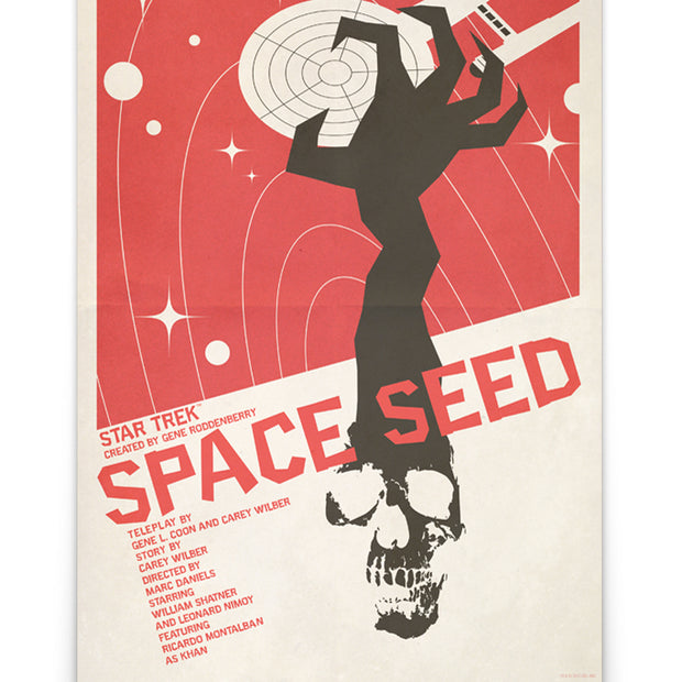 Star Trek: The Original Series Juan Ortiz Space Seed Premium Gallery Wrapped Canvas