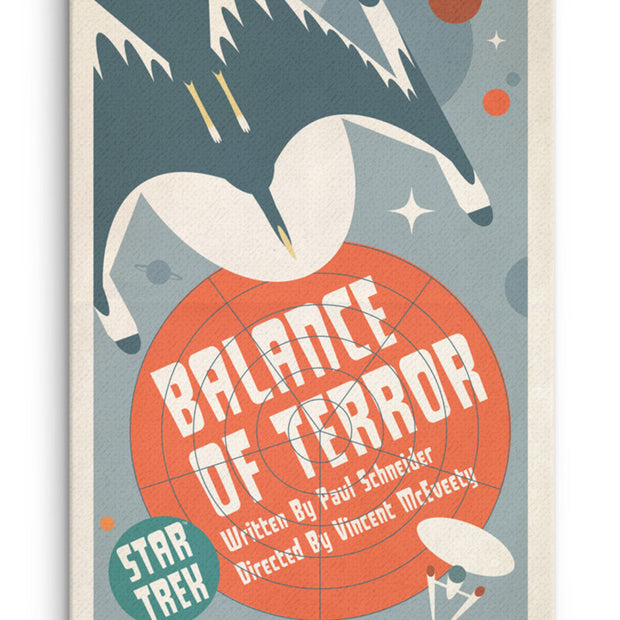 Star Trek: The Original Series Juan Ortiz Balance of Terror Premium Gallery Wrapped Canvas