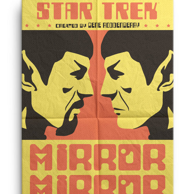 Star Trek: The Original Series Juan Ortiz Mirror Mirror Premium Gallery Wrapped Canvas