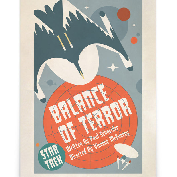 Star Trek: The Original Series Juan Ortiz Balance of Terror Poster