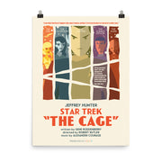 Star Trek: The Original Series Juan Ortiz The Cage Satin Poster