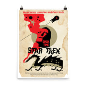 Star Trek: The Original Series Juan Ortiz Amok Time Satin Poster