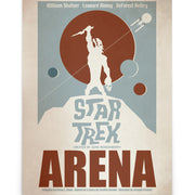 Star Trek: The Original Series Juan Ortiz Arena Satin Poster