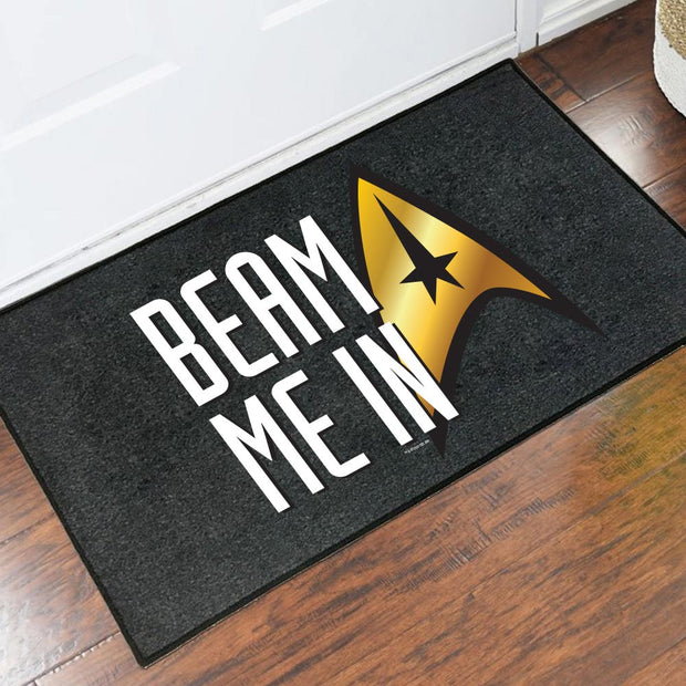 Star Trek: The Original Series Beam Me In Doormat