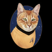 Star Trek: The Original Series Cat Captain Kirk Sherpa Blanket