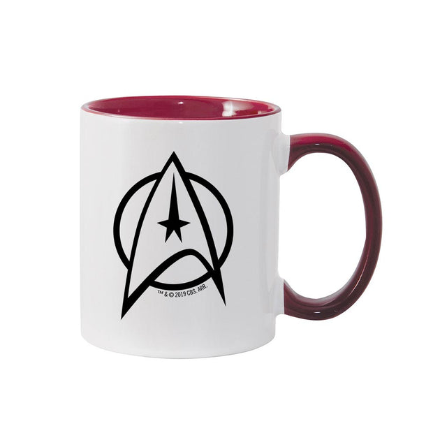 Star Trek: The Original Series Delta Personalized 11 oz Two-Tone Mug