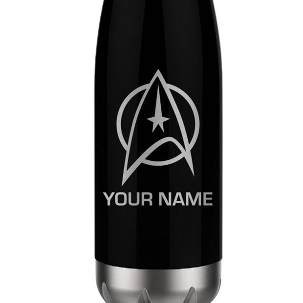 Star Trek: The Original Series Delta Personalized 17 oz Stainless Steel Slim Water Bottle