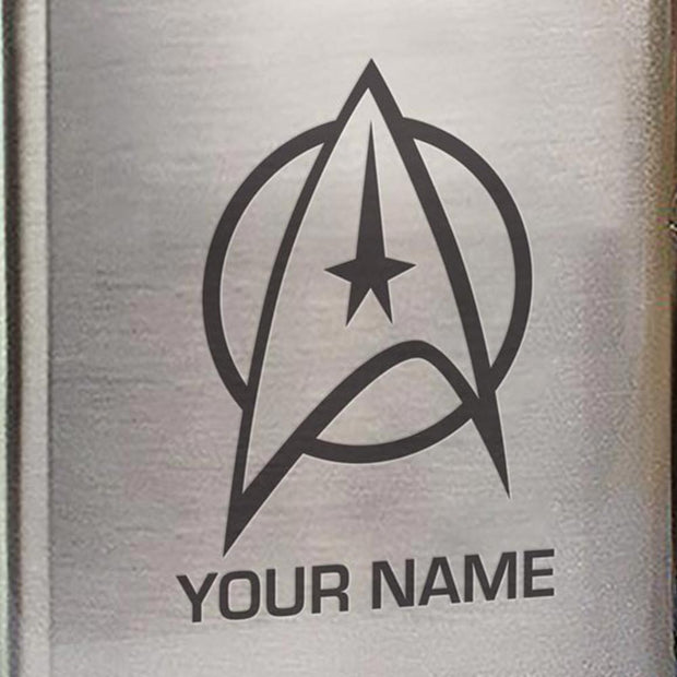 Star Trek: The Original Series Delta Personalized Stainless Steel Flask
