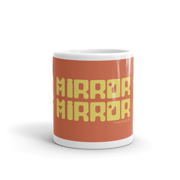 Star Trek: The Original Series Mirror Mirror White Mug