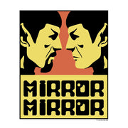 Star Trek: The Original Series Mirror Mirror Adult Short Sleeve T-Shirt