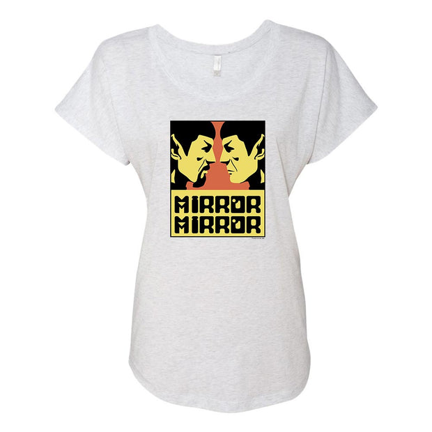 Star Trek: The Original Series Mirror Mirror Women's Tri-Blend Dolman T-Shirt