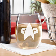 Star Trek: Voyager Delta Stemless Wine Glass